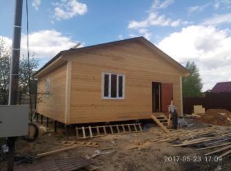 Дом из бруса БУЛАТ 9х9 м.