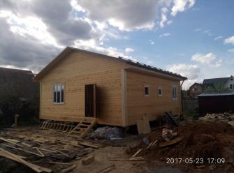 Каркасный дом РУСЛАН 9х9 м.